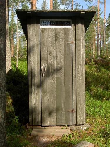 Casa de banho externa