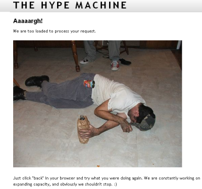 hypem is down